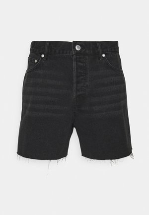 DRAUGHT - Jeans Shorts - washed black