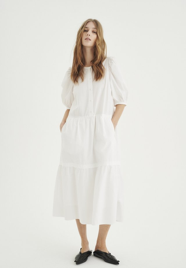 Korte jurk - pure white