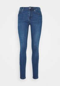 Vero Moda - VMTANYA PIPING - Jeans Skinny Fit - dark blue denim - 3