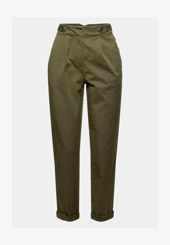 Trousers - dark khaki