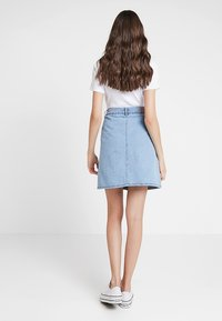ONLY - ONLFARRAH SKIRT  - A-line skirt - light blue denim - 2