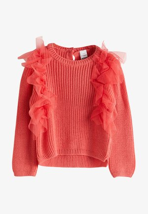 Pullover - coral