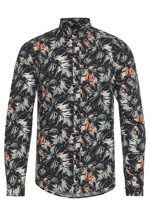 TYLER LS BU PALM - Camicia - hedge gree
