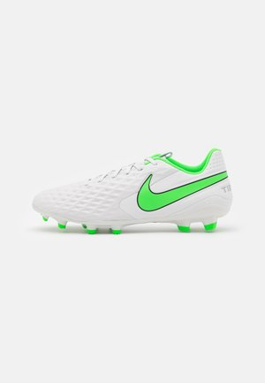 TIEMPO LEGEND 8 ACADEMY FG/MG - Moulded stud football boots - platinum tint/rage green