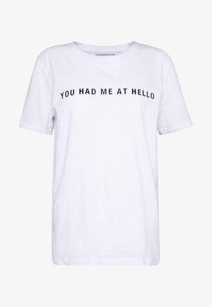 STANLEY  - Print T-shirt - white