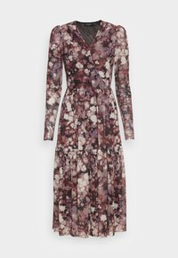 SLALDORA LS - Day dress - brown splash
