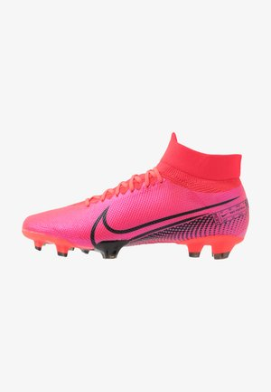 MERCURIAL 7 PRO FG - Moulded stud football boots - laser crimson/black/laser crimson