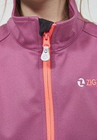 ZIGZAG - Waterproof jacket - 4140 damson - 3