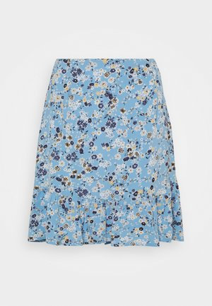 PCGERTRUDE SKIRT - Mini skirt - little boy blue