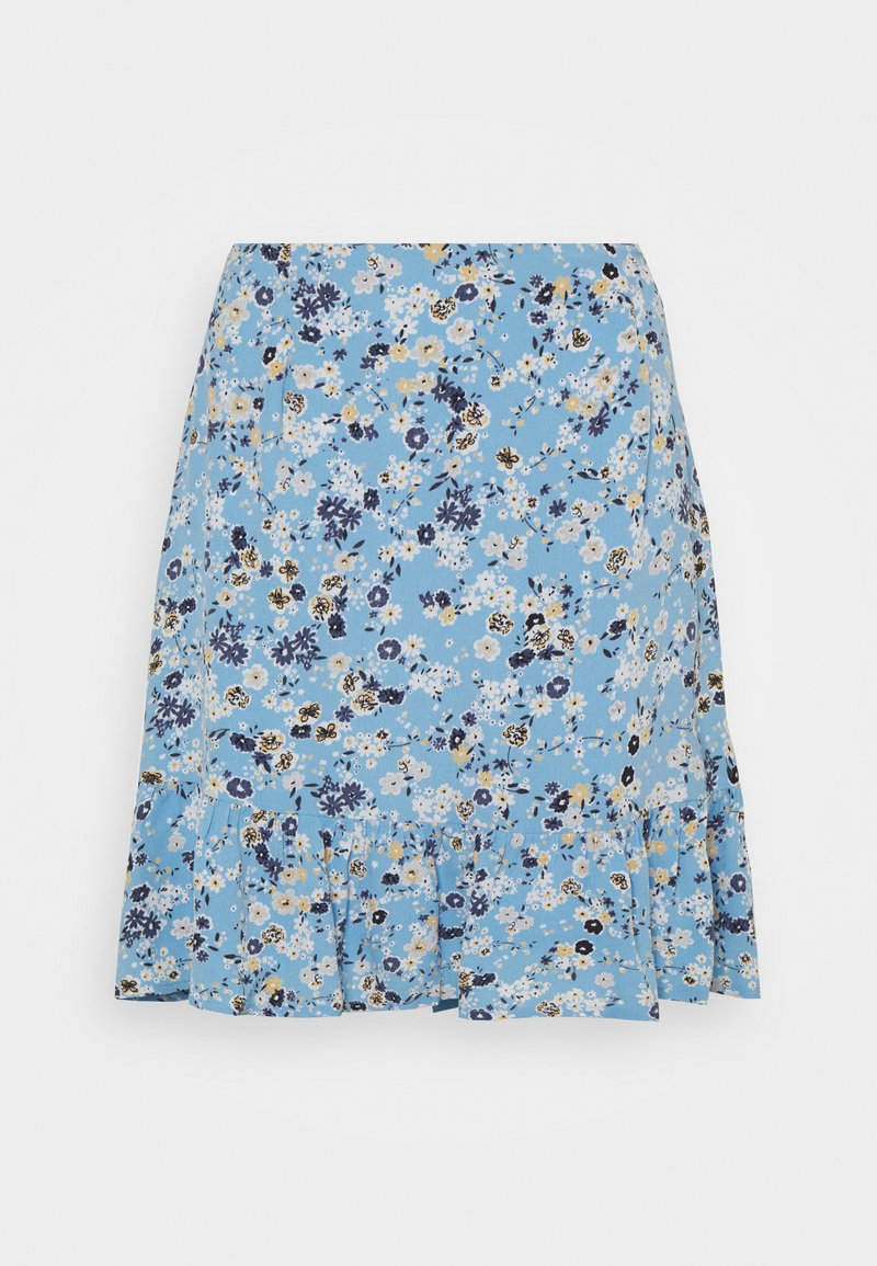 Pieces - PCGERTRUDE SKIRT - A-line skirt - little boy blue