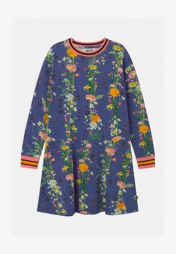CONNY - Jersey dress - blue