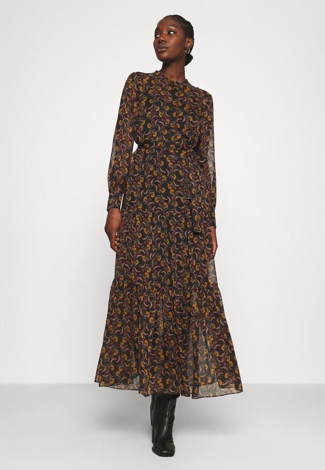 LETTII - Korte jurk - black