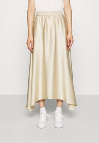 ARKET - MAXI SKIRT - A-lijn rok - beige dusty light - 0
