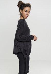 Urban Classics - LADIES ASYMMETRIC - Jumper - black - 5