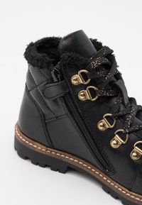 Friboo - Šněrovací kotníkové boty - black - 5