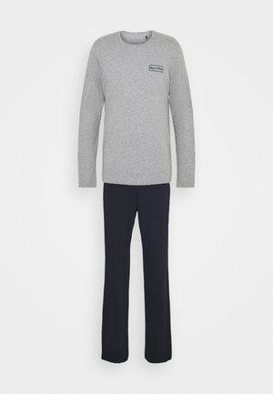 LOUNGESET CREW NECK - Pyjamas - grey