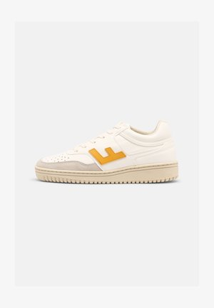 UNISEX RETRO 90'S - Sneakers basse - white-yellow
