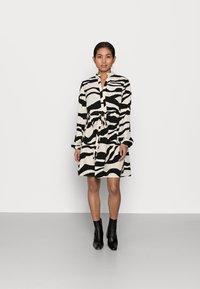 VILA PETITE - VIOMINA DRESS - Day dress - black - 0
