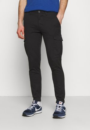 JJIMARCO CUFFED - Cargo trousers - black
