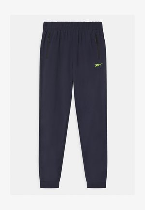 POLY TECH UNISEX - Tracksuit bottoms - navy