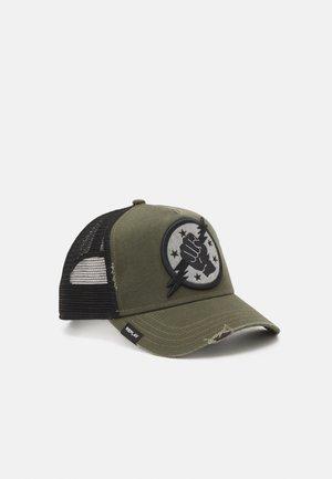 UNISEX - Pet - grey/dark green