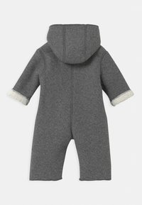 Name it - NBNMILEY UNISEX - Overal - grey melange - 1
