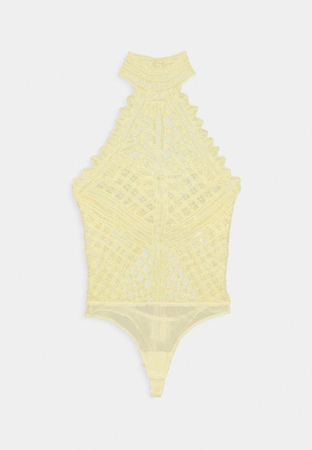 BE MY BATTENBURG  - Body - vintage lemon