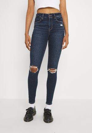 HI-RISE JEGGING - Jeans Skinny Fit - indigo abyss