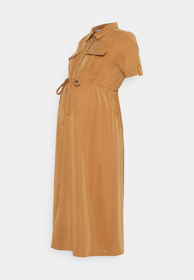DRESS - Maxi-jurk - beige