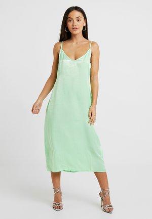 Denní šaty - neon green
