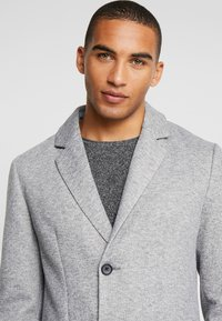 Pier One - Classic coat - mottled grey - 3