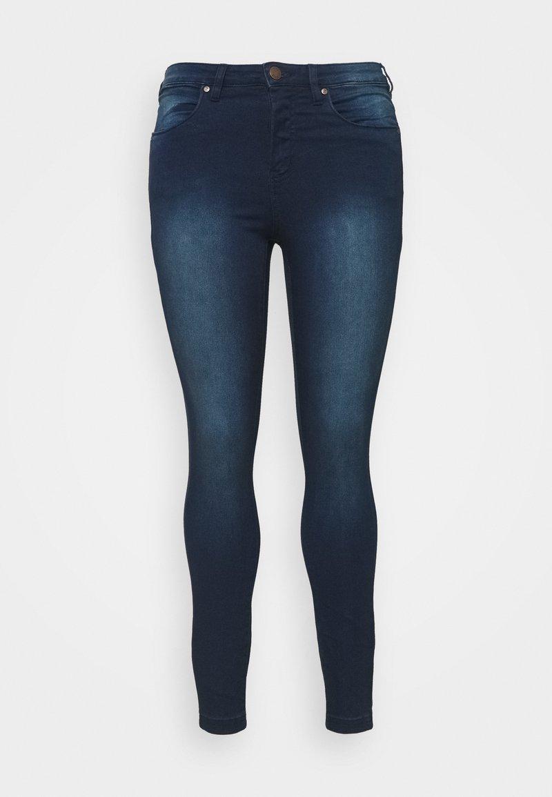 Zizzi - LONG AMY - Jeans Skinny Fit - dark blue