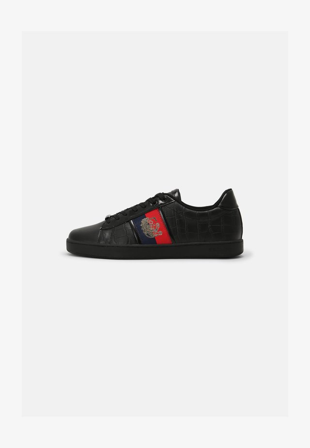 SILVA SEMI - Sneakers laag - black