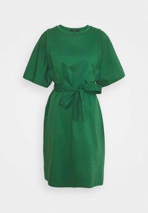LARI - Jerseykjole - smaragdgrun