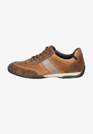 Sneakers laag - havanna/whisky/smoke