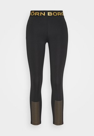 MEDAL - Leggings - black/gold