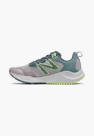 NITREL - Trail running shoes - logwood/oceangrey