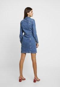Vero Moda - Day dress - medium blue denim - 3