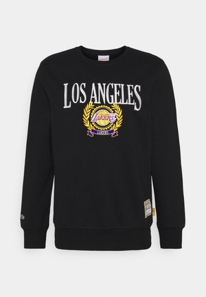 NBA LOS ANGELES LAKERS THE TRUSTEE CREW  - Club wear - black