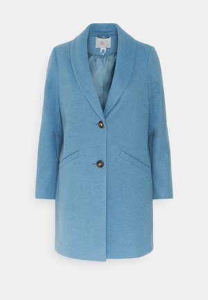 MINIMAL SHAWL COLLAR COAT - Classic coat - blue