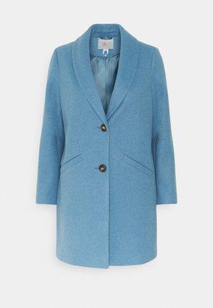 MINIMAL SHAWL COLLAR COAT - Cappotto classico - blue