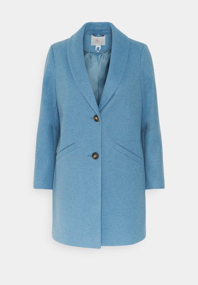 MINIMAL SHAWL COLLAR COAT - Manteau classique - blue