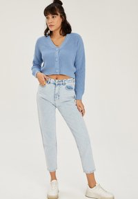 DeFacto - CROPPED - Cardigan - blue - 1