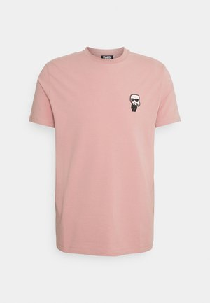 CREWNECK - Print T-shirt - fuchsia
