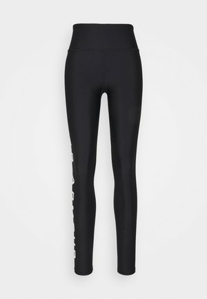 BRANDED LEG - Leggings - black