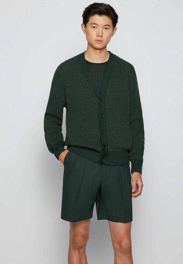 Cardigan - open green
