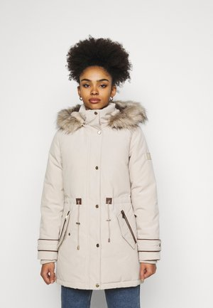 Down coat - birch