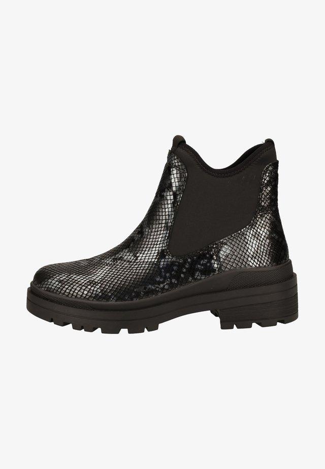 Ankle boot - black snake