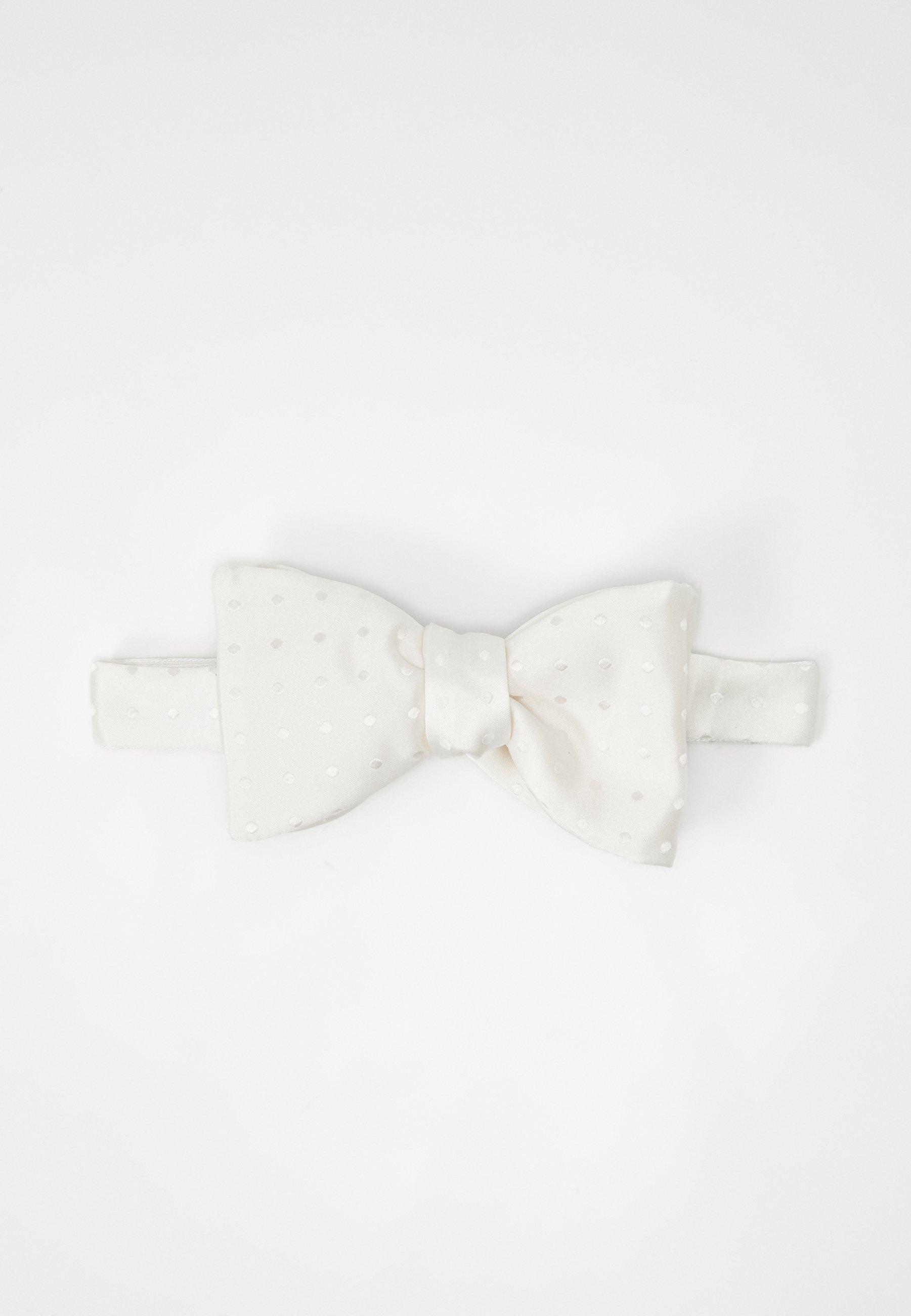 Eton LUSTROUS BOW TIE - Bow tie - white/hvit NyhEjZCHLt5XZKK