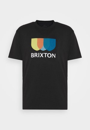 ALTON - T-shirts print - black
